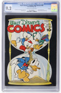 Golden Age (1938-1955):Cartoon Character, Walt Disney's Comics and Stories #40 File Copy (Dell, 1944) CGC NM- 9.2 Cream to off-white pages....