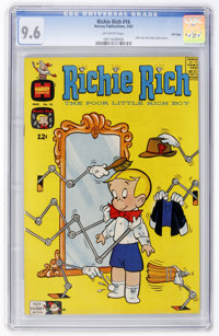Richie Rich #16 File Copy (Harvey, 1963) CGC NM+ 9.6 Off-white pages