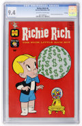 Silver Age (1956-1969):Humor, Richie Rich #6 File Copy (Harvey, 1961) CGC NM 9.4 Off-white to white pages....