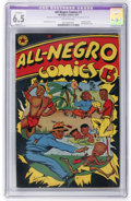 Golden Age (1938-1955):Humor, All-Negro Comics #1 (All-Negro Comics, 1947) CGC Apparent FN+ 6.5 Slight (P) Off-white pages....