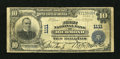 National Bank Notes:Virginia, Richmond, VA - $10 1902 Plain Back Fr. 624 The First NB Ch. # 1111....