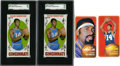 Basketball Cards:Lots, 1969-70 and 1970-71 Topps Basketball Collection (4)....
