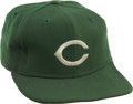 Baseball Collectibles:Hats, 1978 Cincinnati Reds Game Worn Spring Training Cap....
