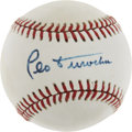 Autographs:Baseballs, Leo Durocher Single Signed Baseball....