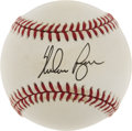 Autographs:Baseballs, Nolan Ryan Single Signed Baseball....