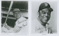 Autographs:Photos, Willie Mays and Frank Howard Signed Photographs Lot of 2....