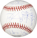 Autographs:Baseballs, 2007 Boston Red Sox Team Signed Baseball....