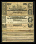 Confederate Notes:1864 Issues, Fifty Mid-Grade T67 $20s 1864.. ... (Total: 50 notes)