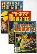 Golden Age (1938-1955):Romance, First Romance File Copy Group (Harvey, 1953-54) Condition: Average VF+.... (Total: 4 Comic Books)