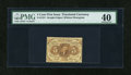Fractional Currency:First Issue, Fr. 1231 5c First Issue PMG Extremely Fine 40....
