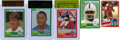 Miscellaneous Collectibles:General, 1980's Hockey and Football Rookie Card Collection (5). ...