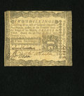 Colonial Notes:Pennsylvania, Pennsylvania April 3, 1772 2s About Extremely Fine....