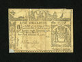 Colonial Notes:New York, New York February 16, 1771 5s Fine....