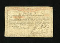 Colonial Notes:New York, New York August 25, 1774 (Water Works) 1s Fine-Very Fine....