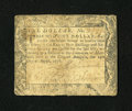 Colonial Notes:Maryland, Maryland August 14, 1776 $1 Fine....