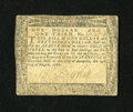 Colonial Notes:Maryland, Maryland August 14, 1776 $$1 1/3 Very Fine-Extremely Fine....