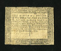 Colonial Notes:Maryland, Maryland December 7, 1775 $1/9 Fine, Damaged....