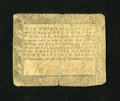 Colonial Notes:Maryland, Maryland December 7, 1775 $1/3 Fine....