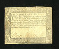 Colonial Notes:Maryland, Maryland December 7, 1775 $2 Very Fine....