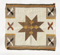 American Indian Art:Weavings, A NAVAJO SINGLE SADDLE BLANKET. c. 1950...