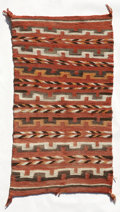 Other, A NAVAJO TRANSITIONAL SADDLE BLANKET. c. 1895...
