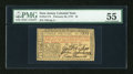 Colonial Notes:New Jersey, New Jersey February 20, 1776 L3 PMG About Uncirculated 55....