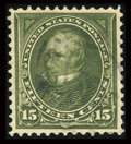 Stamps, #284, 1898, 15c Olive Green, XF-S 95 PSE. (Used)....