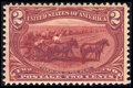 Stamps, #286, 1898, 2c Copper Red, XF-S 95 PSE. (Original Gum - Never Hinged).... (Total: 1 Slab)