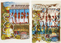 "Music Memorabilia:Posters, Rick Griffin A Puff Of Kief, Lot Of 2 Posters (1967). 14"" x 20""....(Total: 2 Items)"