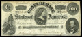 Confederate Notes:1862 Issues, T49 $100 1862 PF-2, Cr. 348.. ...