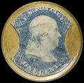 Encased Postage: , HB-27 EP-4 1¢ Ayer's Sarsaparilla Small Ayer's Extremely Fine....