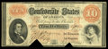 Confederate Notes:1861 Issues, T24 $10 1861 PF-2, Cr. 156A.. ...