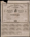 Confederate Notes:Group Lots, Ball 251 Cr. UNL $1000 1863 Bond. . ...