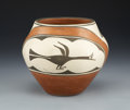 American Indian Art:Pottery, A ZIA POLYCHROME JAR. c....