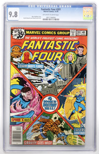 Fantastic Four #201 (Marvel, 1978) CGC NM/MT 9.8 Off-white to white pages