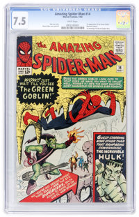 The Amazing Spider-Man #14 (Marvel, 1964) CGC VF- 7.5 White pages