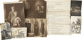 Movie/TV Memorabilia:Photos, Stan Laurel Early Photos and Script Draft.... (Total: 8 Items)