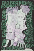 Music Memorabilia:Posters, Big Brother and the Holding Company/Grateful Dead WinterlandConcert Poster (1967)....