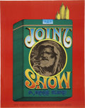 Music Memorabilia:Posters, Joint Show Event Poster (1967)....