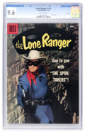 Silver Age (1956-1969):Western, Lone Ranger #115 File Copy (Dell, 1958) CGC NM+ 9.6 Off-whitepages....