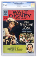 Silver Age (1956-1969):Miscellaneous, Walt Disney Presents #2 The Swamp Fox (Dell, 1960) CGC NM 9.4Off-white pages....