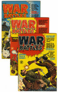 Golden Age (1938-1955):War, War Battles #1-7 and 9 Group (Harvey, 1952-53) Condition: AverageVF.... (Total: 8 Comic Books)