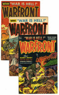 Golden Age (1938-1955):War, Warfront #1-5 File Copies Group (Harvey, 1951-52) Condition:Average VF.... (Total: 5 Comic Books)