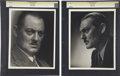 Movie/TV Memorabilia:Photos, Lionel Barrymore Photos by George Hurrell.... (Total: 2 Items)