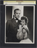 Movie/TV Memorabilia:Photos, Melvyn Douglas and Luise Rainer Promo Photo by Clarence Bull....