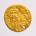 Ancients:Ancient Lots  , Ancients: Lot of three Byzantine AV solidi.... (Total: 3 coins)
