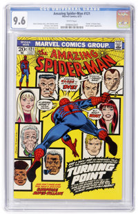 The Amazing Spider-Man #121 (Marvel, 1973) CGC NM+ 9.6 White pages