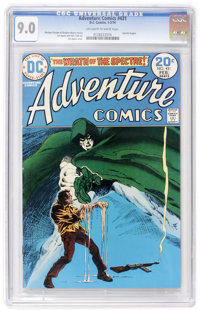 Adventure Comics #431 (DC, 1974) CGC VF/NM 9.0 Off-white to white pages
