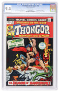 Bronze Age (1970-1979):Miscellaneous, Creatures on the Loose #22 (Marvel, 1973) CGC NM 9.4 Off-whitepages....
