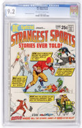 Bronze Age (1970-1979):Miscellaneous, DC Special #7 Strangest Sports Stories Ever Told (DC, 1970) CGC NM-9.2 Off-white to white pages....